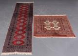 Turkmensk og pakistansk tæppe (2)