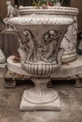 Vaso Pero Trädgårdsurna/Kruka i marmorkrossn Höjd 82 cm