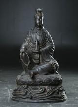 Guan Yin af bronze, China, 20th century