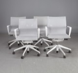 Alberto Meda.  'Physix' office chairs (4)