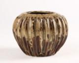 Bode Willumsen. vase af stentøj, unika