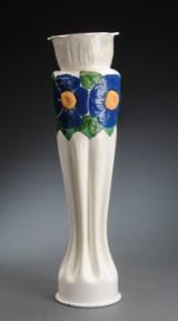 Stor granat af messing omlavet til vase