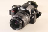 Nikon D40 digitalt kamera med taske og batteri oplader (3)