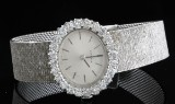 18kt. diamond Juvenia mechanical wristwatch approx. 2.00ct