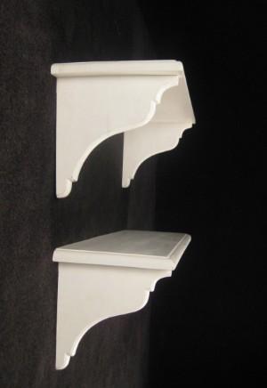 paar wei e wandregale 2 diese ware steht erneut zur auktion unter der warennummer 3510679. Black Bedroom Furniture Sets. Home Design Ideas
