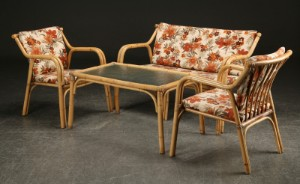 bambus møbler Bambus møbler, sofa, par stole samt sofabord (4) | Lauritz.com bambus møbler