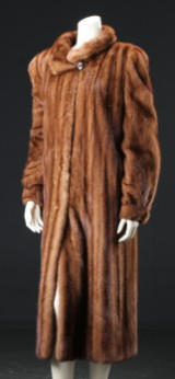 Alexandra. Mink coat, size 42/44