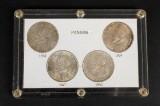 Sølvmønter fra Panama (4)