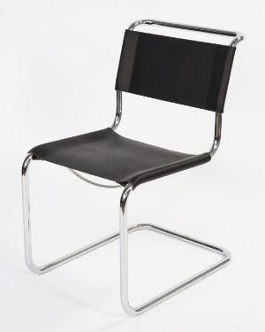 mart stam stuhl freischwinger modell s 33. Black Bedroom Furniture Sets. Home Design Ideas