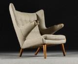 Hans J Wegner lounge chair, Papa Bear Chair, model PP-19